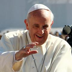 Papież w oryginale