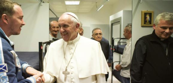 Bezdomny Jezus w Watykanie