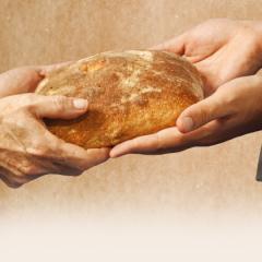 Jezus uczy miłosierdzia