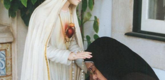 Przyszłam, aby zachęcić wiernych do zmiany życia…